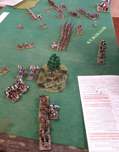 15mm ADLG ancients game at the North Shore Wargames club