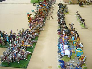 BattleCry 2007. DBM 25mm Swiss vs Kushite Egyptians