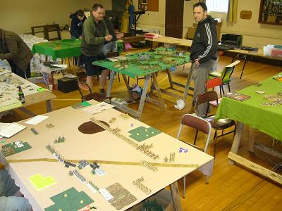 North Shore Wargames Club meeting May 2010