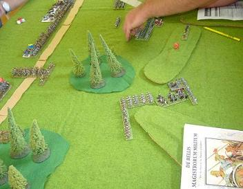 DBMM 15mm Lancastrians vs Hundred Years War English