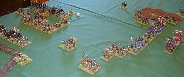 DBR 25mm German Catholic Imperialists and Later Polish armies