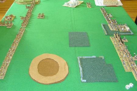 15mm Field of Glory game between Urartians and Libyan Egyptians