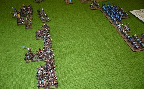 Field of Glory 15mm Italo-Normans and Nikephorian Byzantines