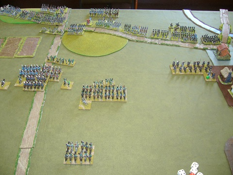 FOGN Germans vs Russian cavalry corps