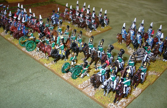 15mm Napoleonic Russian cavalry