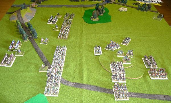 Field of Glory Napoleonics game