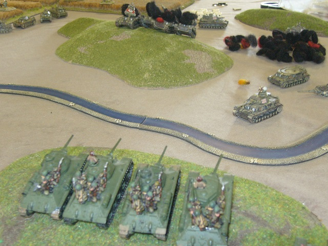 Flames of War - Soviets v Germans