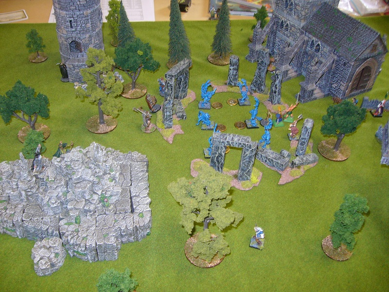 Frostgrave game at the NSWC