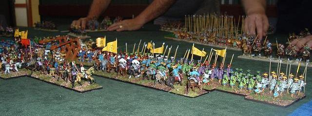 DBM 25mm Han Chinese vs Alexandrian Macedonians