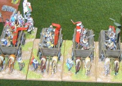 Hussite Warwagons - 25mm Old Glory models based for DBMM