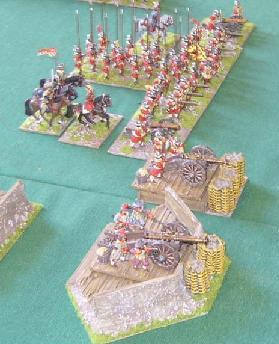 DBR 25mm Thirty Years War Imperialist army used at Natcon 2009.