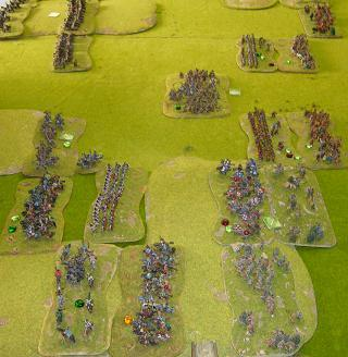 King of Kings ancient wargame at Natcon 2010