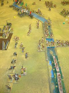 DBR 25mm Aztecs vs Transylvanians