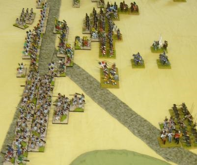 DBR 15mm Aztecs vs Thirty Years War French
