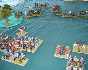 DBR 25mm Early Tudor English vs Japanese at Nicon 2007