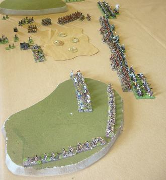 DBMM 15mm Spartans and Normans