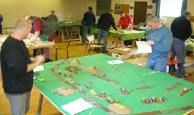 North Shore Wargames Club meeting 24 June 2007.