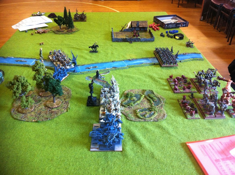 Kings of War game at the North Shore Wargames Club