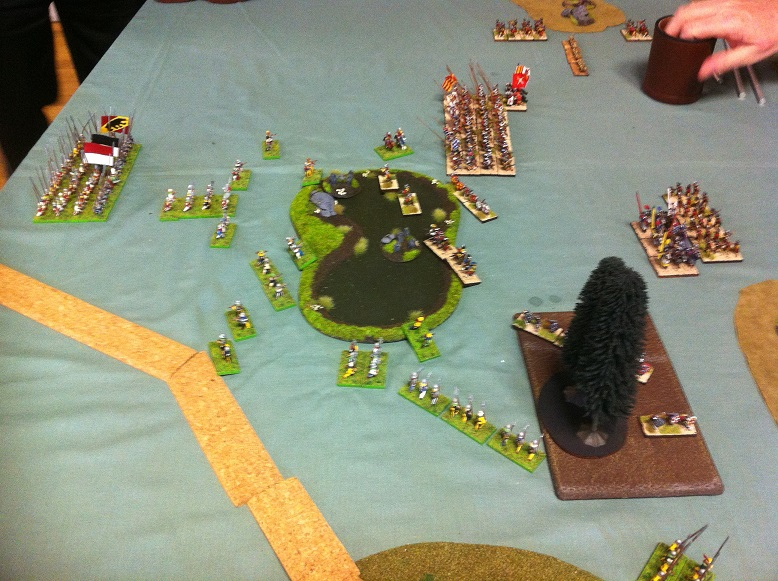 DBR game at the North Shore Wargames Club