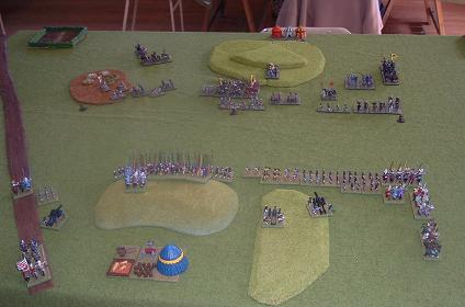Push of Pike 2006. Early Danes vs Valois French.