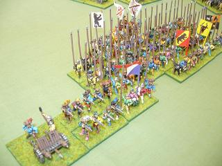 15mm Maximilian Imperialists. Click for larger image.