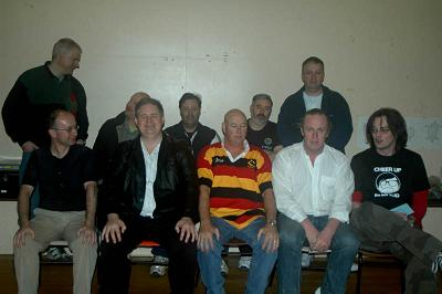 The unruly mob of players at PoP 2007