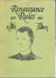 Renaissance Rules 1420-1660 by R.D.C. Publications