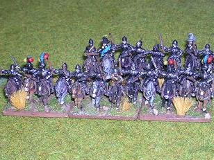 DBR Reiters. 15mm Essex Miniatures